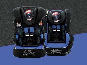 Cadeirinha do Capitão América: conheça os modelos exclusivos da Team Tex