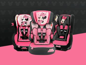 Cadeirinhas rosa da Team Tex: 3 modelos encantadores